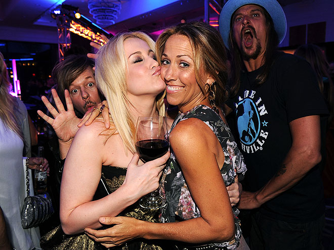 KELLIE PICKLER, SHERYL CROW & KID ROCK photo | David Spade, Kellie Pickler, Kid Rock, Sheryl Crow