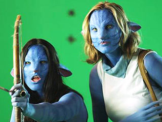 Olivia Munn Has the Blues – Literally! – in Avatar Parody | Olivia Munn