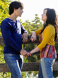 Joe Jonas & Demi Lovato Up the Romance in Camp Rock 2