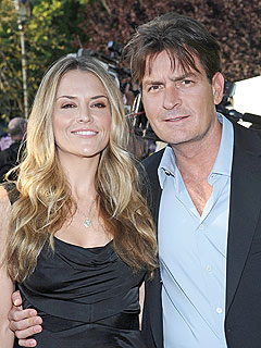 Charlie Sheen Skipping SAG Awards to Be with Wife | Brooke Mueller, Charlie Sheen