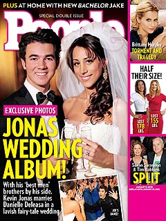 FIRST LOOK: Kevin Jonas's Wedding Photo! | Kevin Jonas