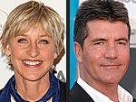 Ellen DeGeneres Starts Work on American Idol | Ellen DeGeneres, Simon Cowell