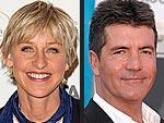 Ellen DeGeneres Starts Work on American Idol | Ellen DeGeneres, Simon Cowell