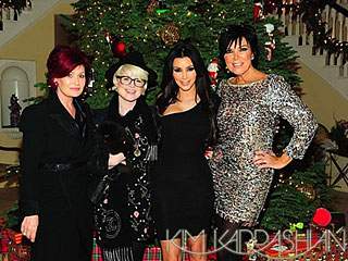 Holiday Reality: The Kardashians Bond with The Osbournes