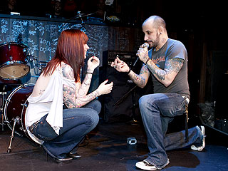 Backstreet Boy A.J. McLean Proposes on Stage | AJ McLean