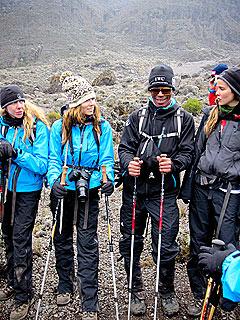 Blizzard Hits Jessica Biel, Emile Hirsch on Mt. Kilimanjaro | Jessica Biel