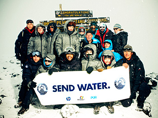 PHOTO: Jessica Biel, Emile Hirsch Reach Mt. Kilimanjaro's Summit