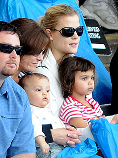 Tiger Woods's Kids Have a Blast at Sea World
