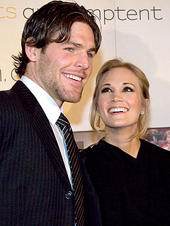 You wanted to see carrie underwood and fianc 233 mike fisher make their