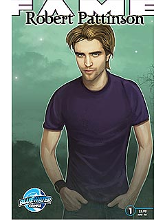 PHOTO: Rob Pattinson as a Comic Book Star | Robert Pattinson
