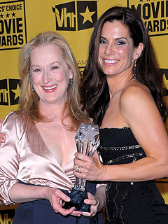Meryl Streep, Sandra Bullock To Face Off at SAG Awards | Meryl Streep, Sandra Bullock
