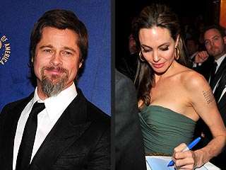 Brad & Angelina's Affectionate Night Out