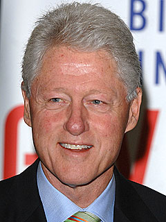 Bill Clinton in 'Good Spirits' After Hospitalization