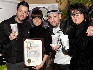 Nicole Richie & Joel Madden Celebrate Opening of New Playground