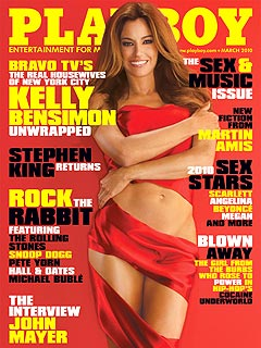 Cover of Playboy Magazine