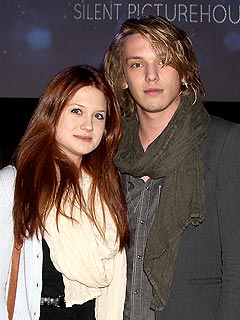 A New Twilight-Harry Potter Romance! | Bonnie Wright, Jamie Campbell Bower