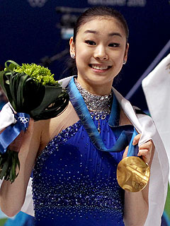 Kim Yu-Na Takes the Figure Skating Gold