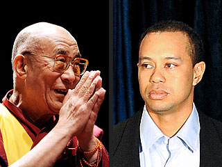 Dalai Lama: Who&#39;s Tiger Woods?