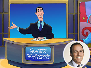Matt Lauer Gets Animated for Curious George 2