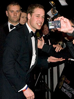 Prince William, Twilight Make for Red Carpet Frenzy at UK 'Oscars' | Prince William