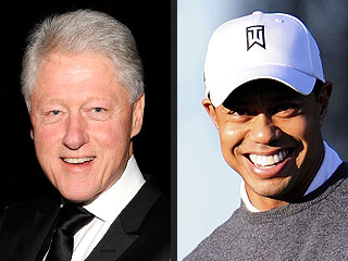 Bill Clinton Offered His Support to Tiger Woods