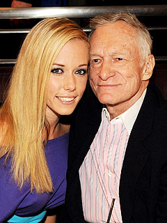 Kendra Wilkinson Introduces Baby Hank to Hugh Hefner