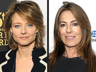 Jodie Foster Is Rooting for Kathryn Bigelow | Jodie Foster, Kathryn Bigelow