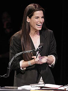 Sandra Bullock Picks Up Her 2 Razzies in Person | Sandra Bullock