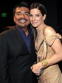 'Uncle' George Lopez: Sandra Bullock Could Not Be Happier