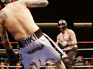 Benji Madden Wins Celebrity Boxing Match