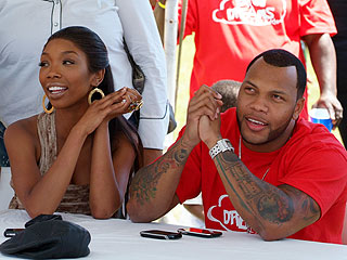 Is Brandy in Love with Rapper Flo Rida?