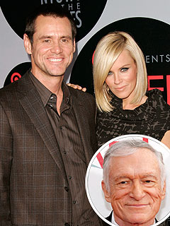 Hugh Hefner: Jenny McCarthy and Jim Carrey Were a 'Magical Couple'