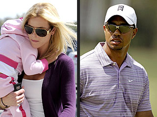 Tiger Woods a Swinging Single While Elin & Kids Go to Sweden