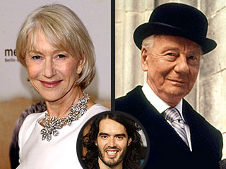 Helen Mirren to Watch over Russell Brand