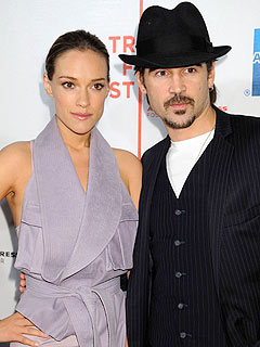 Colin Farrell and Girlfriend Alicja Bachleda Step Out – at Last