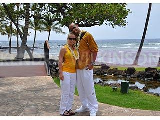 Hank Baskett & Kendra Wilkinson Take a Tropical Getaway