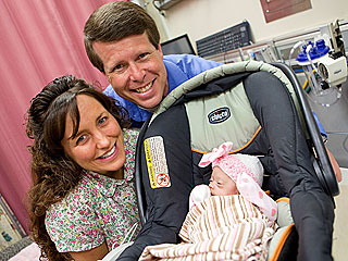 Michelle Duggar Spends Mother's Day in the Hospital
