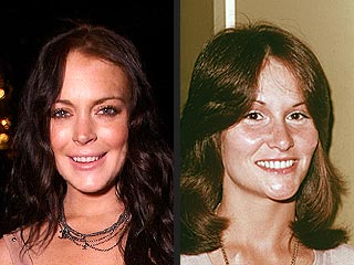 Lindsay Lohan Lands Racy Movie Role: Linda Lovelace | Linda Lovelace, Lindsay Lohan