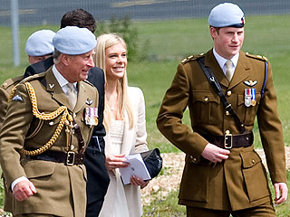 PHOTO: Chelsy Davy Steps Out to Support Prince Harry