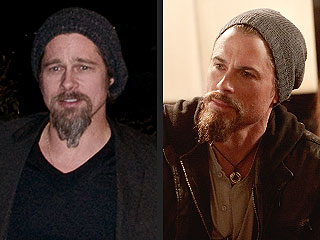 PHOTO: Is Rob Lowe Channeling Brad Pitt?