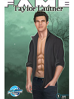 PHOTO: Taylor Lautner Gets the Comic Book Treatment