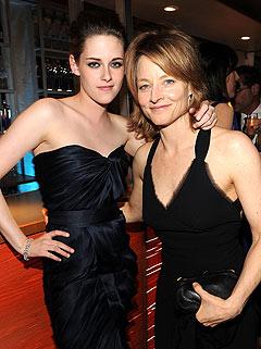 Jodie Foster Kristen Stewart on Jodie Foster And Kristen Stewart
