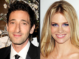 Are Adrien Brody and January Jones Dating? | Adrien Brody, January Jones