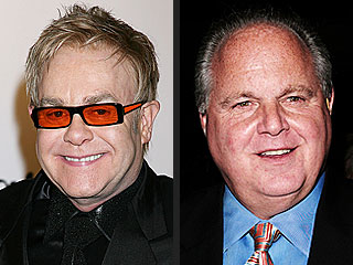Elton John 'a Little Surprised' at Rush Limbaugh Wedding Invite | Elton John, Rush Limbaugh