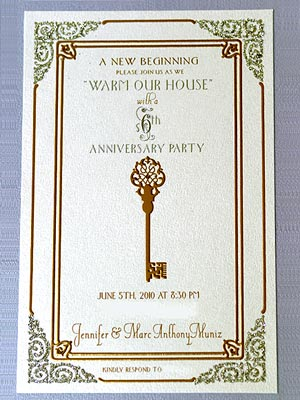 Jennifer Lopez and Marc Anthony's Housewarming Invitation Revealed!