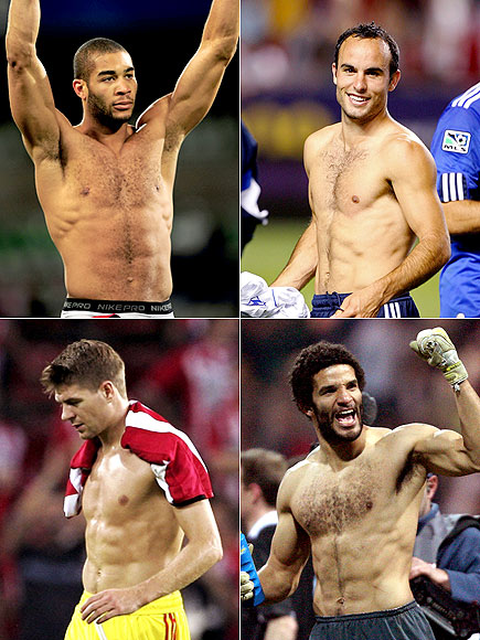U.S. Soccer Studs (Literally) Face Off Against England: Who's Hotter?