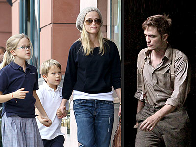 Reese Witherspoon Gives Daughter a Meet-and-Greet with Robert Pattinson