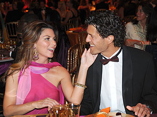 Shania Twian and Frederic Thiébaud