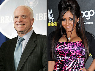 QUOTED: Sen. John McCain Is on Team Snooki | John McCain, Nicole Polizzi