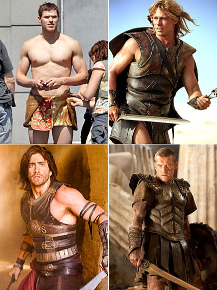 Which Hollywood Hunk Rocks the Sword-and-Sandals Look Best?
